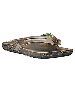 Timberland Men�s Earthkeeper�s Rugged Escape Thong Sandals