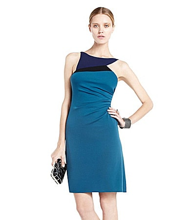 BCBGMAXAZRIA Adair Asymmetric Dress