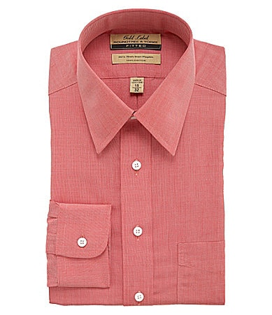 Roundtree & Yorke Gold Label Fitted Dress Shirt