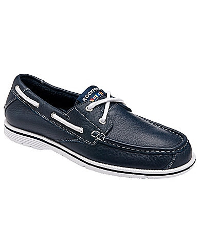 Rockport Men�s Seacoast Drive 2-Eye Boat Shoes