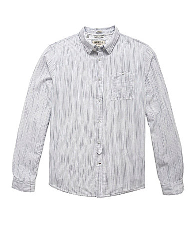 Guess Long-Sleeve Stream Stripe