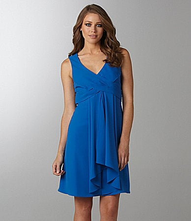 Vince Camuto Pleated Front Dress