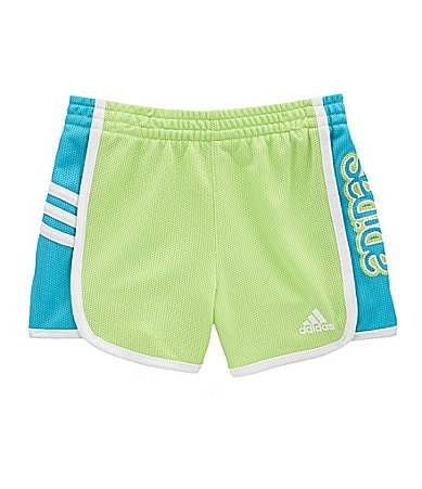 Adidas 2-6X Hot Shot Mesh Shorts