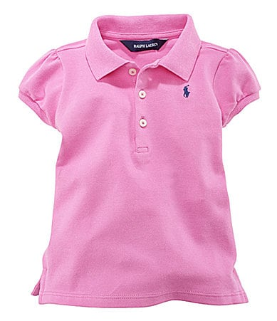 Ralph Lauren Childrenswear 2T-6X Mesh Polo Shirt