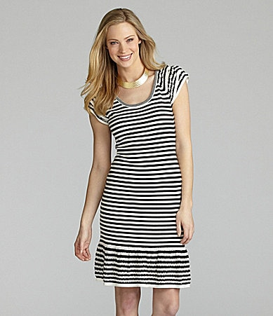 Cremieux Daphne Striped Dress