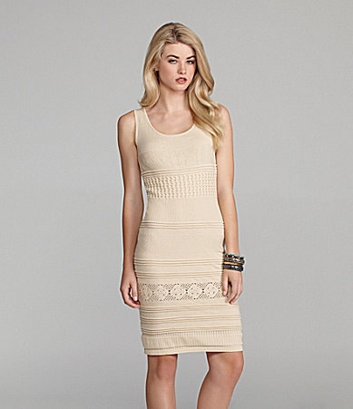 Cremieux Emma Crochet Bodycon Dress
