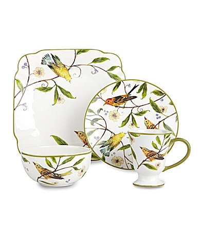 Noble Excellence Bird Garden Dinnerware