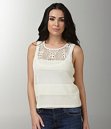 Kensie Mini Rope Crochet Top