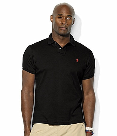 Polo Ralph Lauren Big & Tall Classic-Fit Cotton Interlock Polo Shirt
