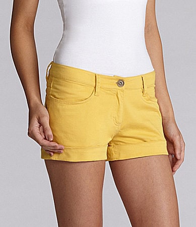 Kensie Rolled Cuff Shorts