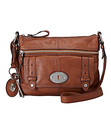 Fossil Maddox Top Zip Satchel