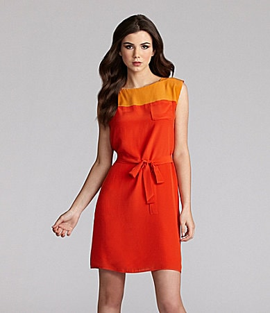 French Connection Sarah Colorblock Dress