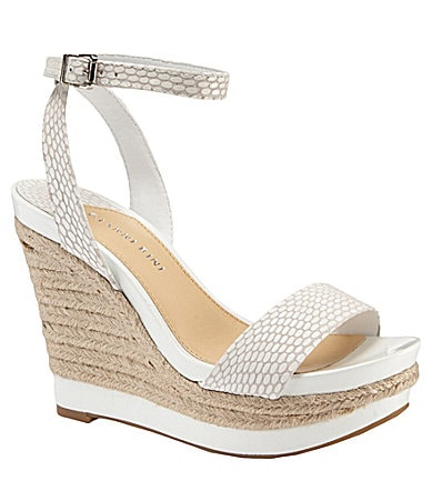 Gianni Bini Camelia Platform Wedge Sandals