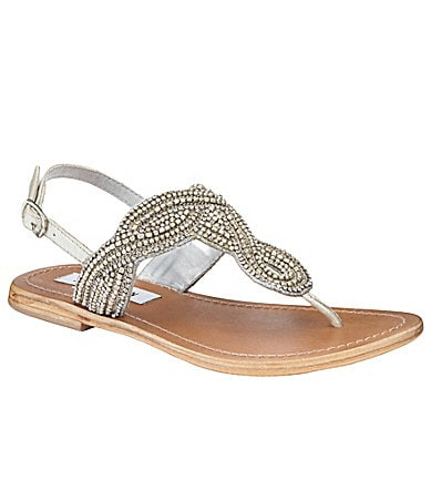 Steve Madden Shiekk Beaded Sandals