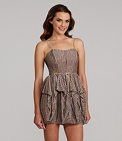 French Connection Samara Strapless Beaded Dress