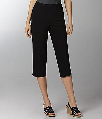 Westbound PARK AVE fit SLIM FX Twill Capri Pants