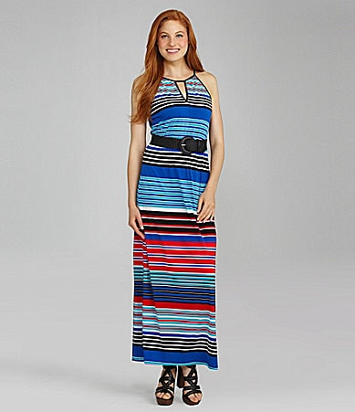 B. Darlin Striped Maxi Dress