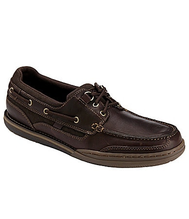 Rockport Men�s 3-Eye Boat Shoes