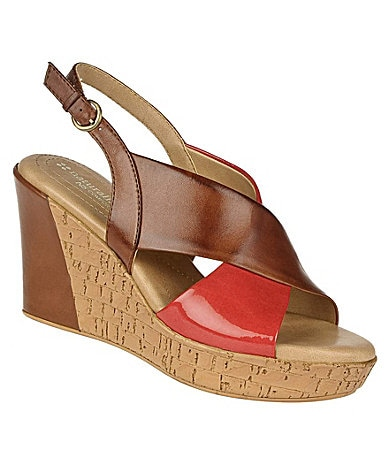 Naturalizer Payton Wedge Sandals