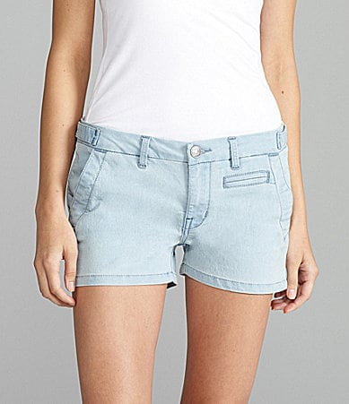 Buffalo David Bitton Chambray Prisma Shorts