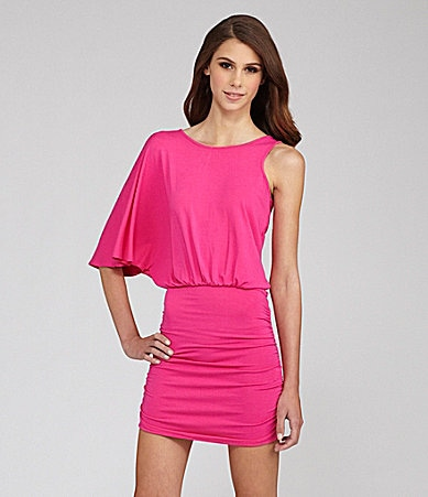Buffalo David Bitton One Shoulder Mini Dress