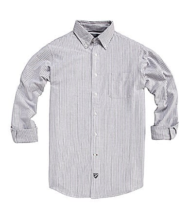 Cremieux Striped Oxford Sportshirt