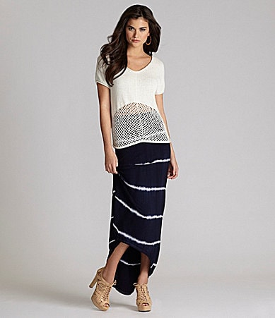 Gianni Bini Tucker Sweater & Frances Maxi Skirt