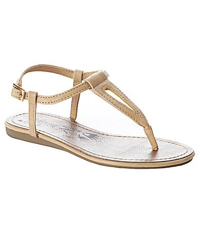 Kenneth Cole Reaction Girls Music Float T-Strap Sandals