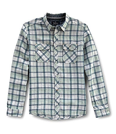 Buffalo David Bitton Savit Linen Shirt