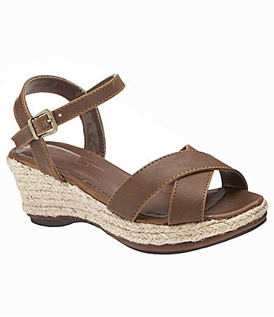 Jessica Simpson Girls Kowloon Wedge Sandals