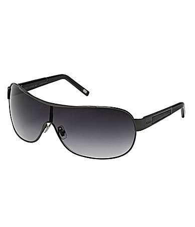Fossil Corban Metal Shield Sunglasses