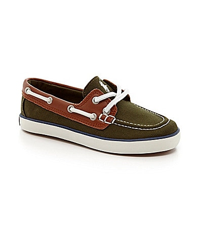 Polo Ralph Lauren Boys Sanders Deck Shoes