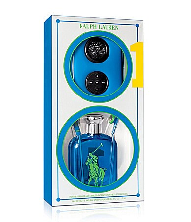 Ralph Lauren Fragrances Big Pony Blue #1 Music For All Gift Set