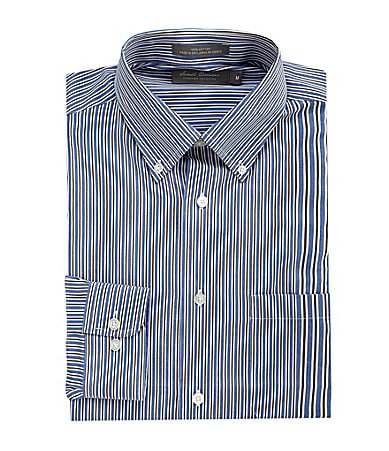 Daniel Cremieux Signature Heather Striped Dobby Sportshirt