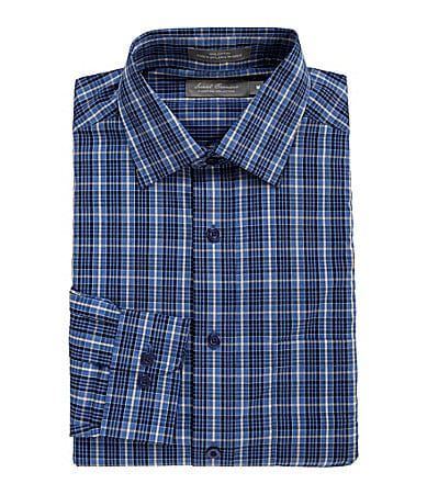 Daniel Cremieux Signature Heather Plaid Poplin Sportshirt