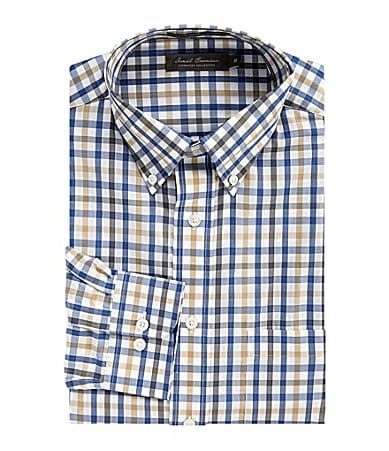 Daniel Cremieux Signature Heather Check Poplin Sportshirt