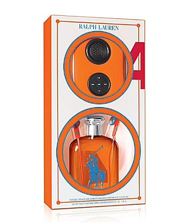 Ralph Lauren Fragrances Big Pony Orange #4 Music For All Gift Set