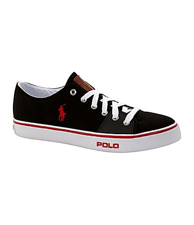 Polo Ralph Lauren Men�s Cantor Low Canvas Sneakers