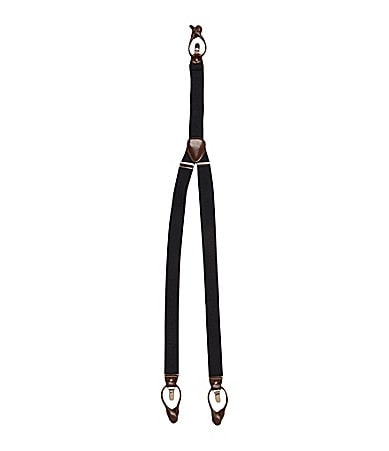 Roundtree & Yorke Big & Tall Convertible Suspenders