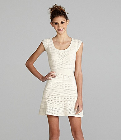 Jessica Simpson Sportswear Cap-Sleeve Dress