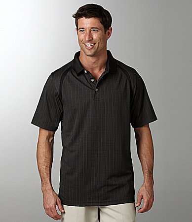 Callaway Double Knit Mini Jacquard Polo Shirt