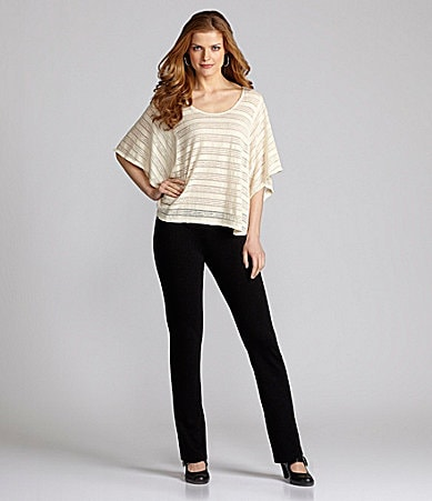 Nurture Mini Stripe Jersey Top & Slim Leg Ponte Pants