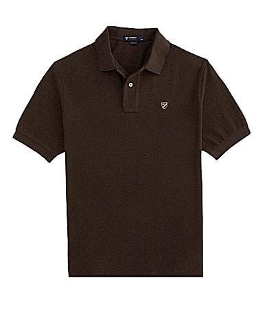 Cremieux Pique Vintage Washed Polo Shirt