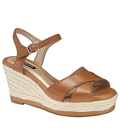 Alex Marie Albe Wedge Espadrille Sandals