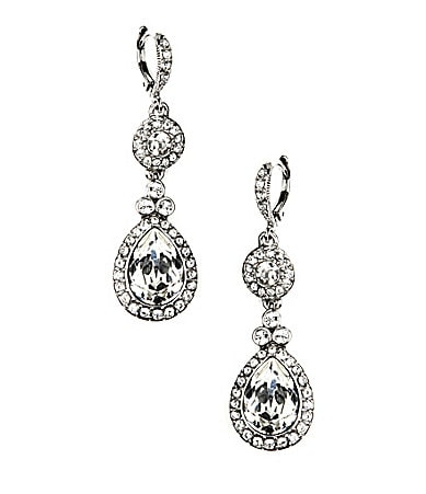 Givenchy Wingate Crystal Drop Earrings