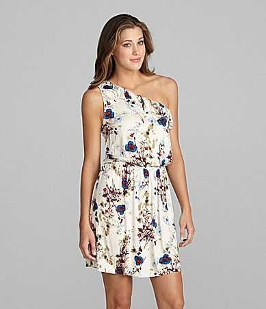 Kensie One-Shoulder Dress