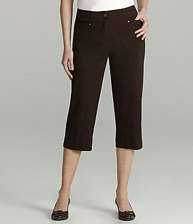 TanJay Woman Comfort Stretch Waist Capri Pants