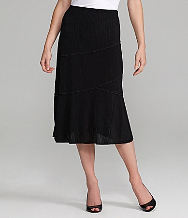 TanJay Pull-On Pieced Skirt