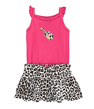Carter�s Infant Guitar Appliqued Bodysuit & Skirt Set