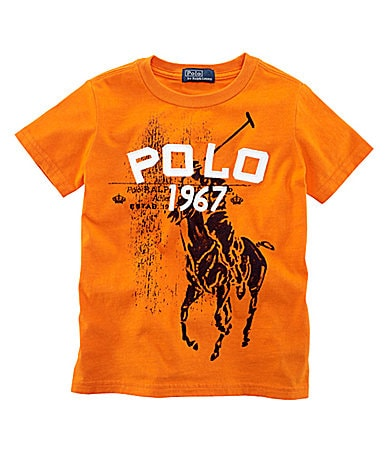 Ralph Lauren Childrenswear 2T-7 Jersey Tee